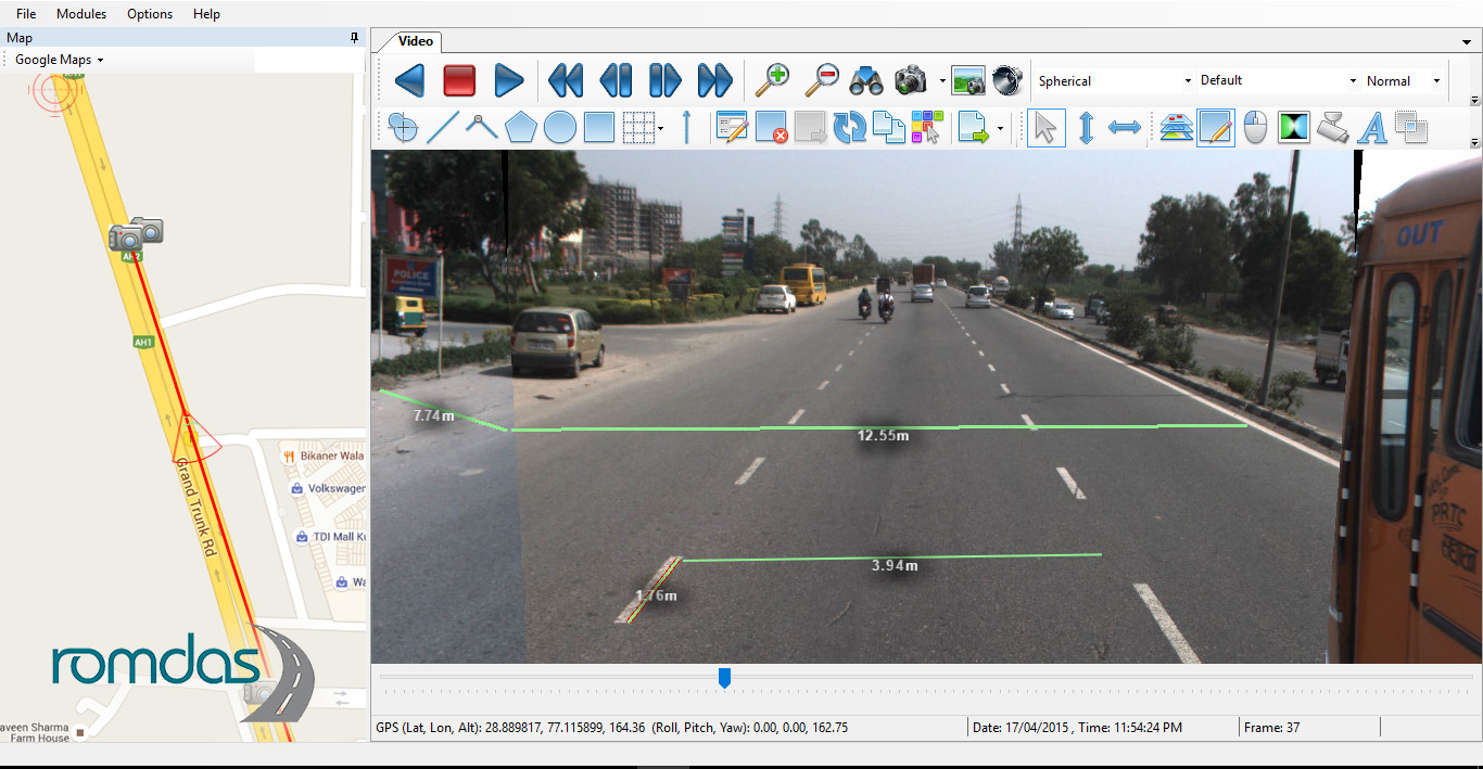 Camera Upgrade and New Mobile Mapping Software Commissioned in Peru